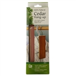 My Helper CBLK Cedar Pest Control 1 Pack of 7-1/2 Inch x 1-7/8 Inch Original 100 Percent Natural Cedar Block Closet Hang Up With Metal Hook