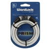 Wordlock CL-650-SL Prism Silver 8mm x 5' FT Combination Cable Lock