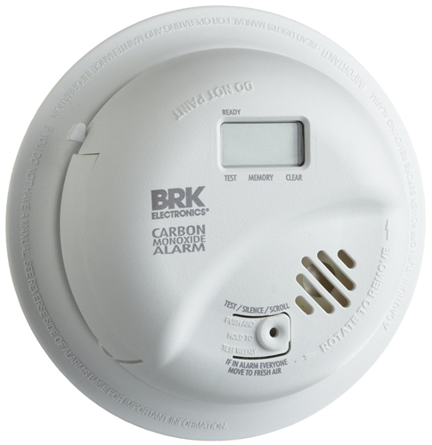 BRK, CO5120PDBN, Hardwire Carbon Monoxide Alarm with Battery Backup and  Digital Display