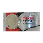 Maxwell CR2032 Micro Lithium Cell 3V Battery