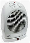 Comfort Zone Deluxe High Efficiency Oscillating Fan- Heater CZ50