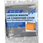 "Comfort Zone, CZAC2, 18"" x 27"" x 16"" x 6 Mil, Small, Outside Outdoor Window Air Conditioner Cover"