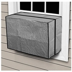 "Comfort Zone, CZAC3, 18"" x 27"" x 22"" x 6 Mil, Medium, Outside Outdoor Window Air Conditioner Cover"