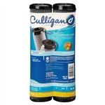 Culligan, D-10A, 2 Pack, Level 1 Undersink Drinking Water Filter Replacement Cartridge Carbon Impregnated Cellulose