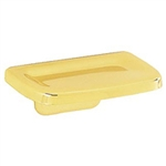 Liberty, D306PB, Wall Mounted Soap Dish Polished Brass