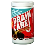 Enforcer, DC16, 18 Oz Drain Care Build Up Remover Powder, Enzymatic drain cleaner