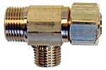 "Aqua Plumb, 3516P, Easy Connect 3/8"" x 3/8"" Brass Supply Stop Extender Tee"