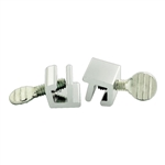 First Watch 1409-W 2 Pack Aluminum Single Thumbturn Patio Sliding Window Lock Stop