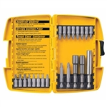DeWALT DW2161 21 Piece Screwdriving Set With Tough Case Yellow And Black