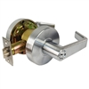 Trans-Atlantic, Satin Chrome US26D, Entry Entrance Grade 2 Commercial Cylindrical ADA Angled Lever Lockset