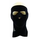 Exo Pro, E231, Large, Black, Extreme Cold Weather Full Face and Neck Mask, Velcro Ski Mask