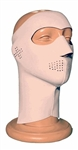 Exo Pro, E232, Large, White, Extreme Cold Weather Full Face and Neck Mask, Velcro Ski Mask