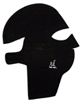 Exo Pro, E441, Extra Large, Black, Extreme Cold Weather Full Head and Neck Mask, Velcro Ski Mask