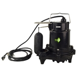 Eco-Flo EFSA33 1/3 HP Heavy Duty Cast Iron Submersible Sump Pump