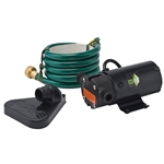 "Eco-Flo ECFPUP61 1/12 HP LIGHT WEIGHT UTILITY PUMP - INCLUDES 6' HOSE AND FLOOR DRAINER (WILL DRAIN WATER TO 1/8"" ON SURFACES) - UP TO 360 GPH"