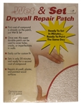 "Wet & Set ECH-123 15"" x 5"" Fast Setting Drywall Repair Patch"