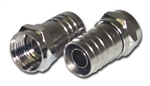 "CONECT IT, F59AHX, 2 Pack, RG59 Coaxial ""F"" Crimp On End Connector"