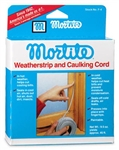 Thermwell, F4, 45', 9-1/2 OZ Roll, Gray, Mortite Caulking Cord Weather-Strip