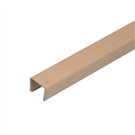 "Wire Hider Premiere Raceway WireHider, FCL-21421, 1/2"" x 48"", Beige, Cover Lid for Molding Self Adhesive"