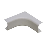 "Wire Hider Wirehider, FIC-42414, 1"" Inside Corner White For Molding Self Adhesive"
