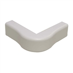 "Wire Hider Wirehider, FOC-52414, 1"" Outside Corner White For Molding Self Adhesive"