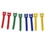 "Helping Hand 50213 Pack of 8 Reusable 5"" Velcro Hook And Loop Cable Ties"