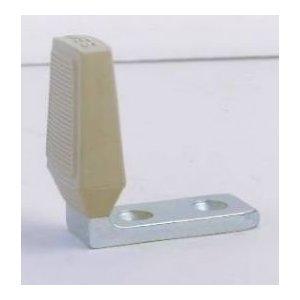 Ives, FS434 US2C, Floor Door Stop, Zinc Plated, (Base Steel), Angle Door  Stop
