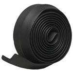 "Frost King G9H Black 2-1/4"" x 9' Rubber Garage Door Bottom Seal"