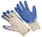 Tuff Stuff, GLV9627-1, 1 Pair, Heavy Blue Plastic Dipped Palm Cotton Glove 24.5CM