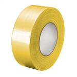 "2"" 48mm x 10 Yard, 9.14m Yellow, General Purpose Duct Tape, Durable"