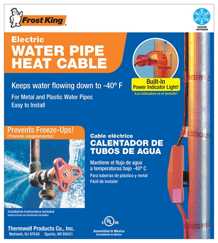 Frost King Hc12 12 Feet Automatic Electric Water Pipe Heat