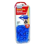 Plasplugs, HCF113US, 25 Pack, Heavy Duty Drywall Anchor, #8 Screws