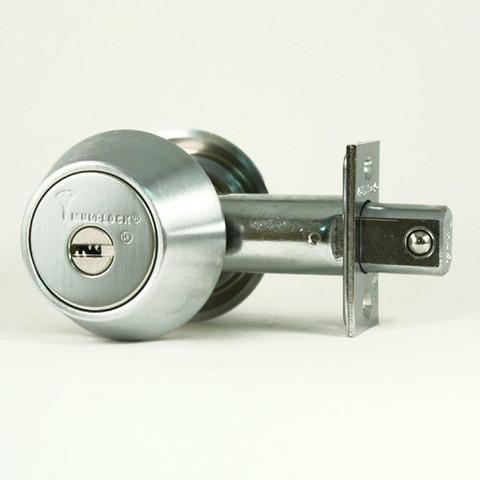 Silver Grade 1 Mul-T-Lock High Security Hercular Deadbolt Interactive