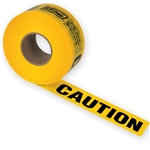 Ivy Classic 14000 Yellow 300' Caution Tape, 2 Mil Thick