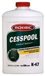 Roebic, K-47-Q-12, 2 LB 1 QT 32 OZ, Cesspool Treatment, Septic Tank & Cesspool Chemicals