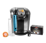 Keurig K525C Single Serve Coffee Maker, 12 K-Cup Pods and My K-Cup 2.0