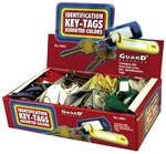 Guard, K901, Key I.D. Tag With Split Ring, Durable Identifier, 200 Piece, Bulk