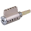 Mul-T-Lock, KIKARM-26D, Key In Knobe Cylinder- Satin Chrome For Knobe & Lever Replacement, HIGH SECURITY, 006 KEYWAY