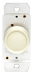 Leviton, L01-00705-00I, Ivory, 600W, Push On - Push Off, Rotary Dimmer, Single Pole