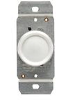 Leviton, L02-00700-00W, White, 600W Rotating, Rotary Dimmer, Single Pole
