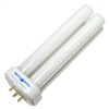 Lights Of America 27 watt 4-Pin Base 2127B FDL-27LE Double Tube Compact Fluorescent Replacement Light Bulb Only