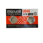 Maxwell LR44 Special 2 Pack Alkaline A76 1.5V Battery