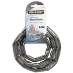 "Em-D-Kay 2482 Vinyl Sleeved 3/16"" x 4' Steel Chain"