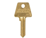 Em-D-Kay AM7 New Bow Style 6 Pin Key Blank For American Lock Junkunc PTKB-1 Keyway