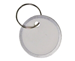"Em-D-Kay PA-TAGS 1-1/4"" Diameter Paper With Metal Rim Round Key Tags - 50 PK"