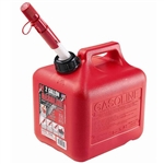Midwest Can 2310 Red 2 Gallon Plastic EPA/CARB Gas Can