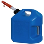 Midwest Can 2600 Blue 2 Gallon PLAS EPA/CARB Kerosene Can