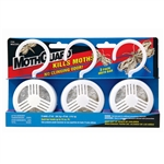 Moth Guard MGC2 1 Piece 2 Ounce Moth Cake Bar With Plastic Hang-Up Case