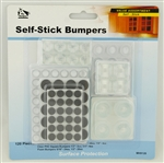 My Helper, MH9120, 120 Pieces, Round Square Foam Self Stick Bumpers