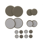 My Helper, MH916, 16 Pieces, Multi Size Kit, Round Sliding Discs Self Stick Glides
